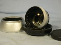 '  75mm ' Zeiss Ikon Pantar Prime Portrait Contaflex Lens + Zeiss Chrome Hood Cased -RARE- £24.99